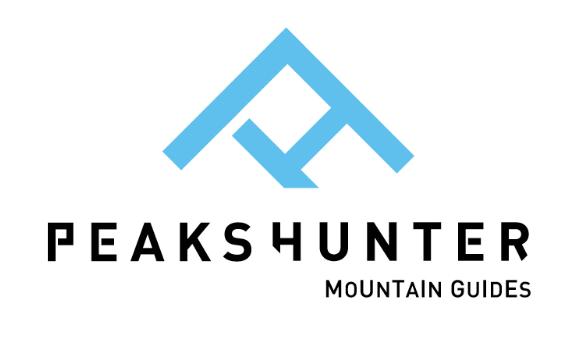 LOGO PEAKSHUNTER - Guide alpine